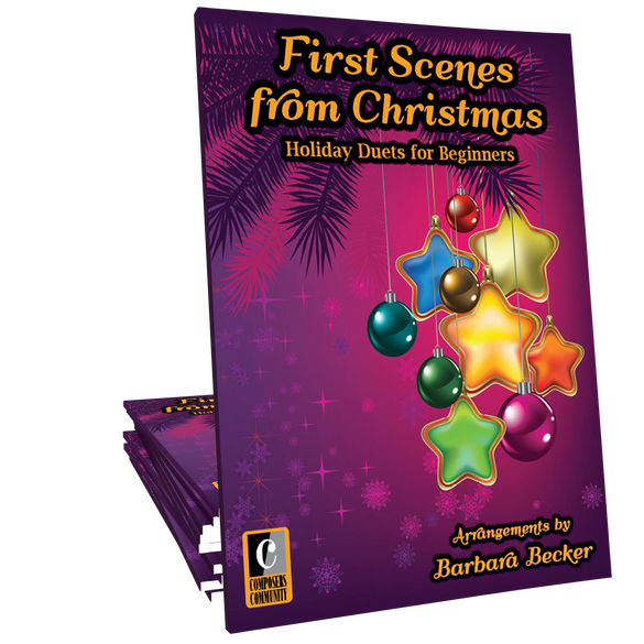 First Scenes from Christmas - Duet Songbook by Barbara Becker