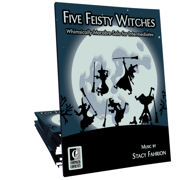 Five Feisty Witches - Music by Stacy Fahrion