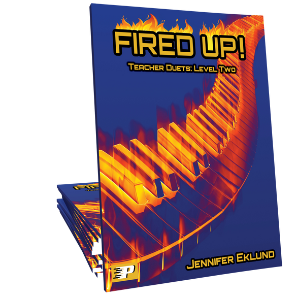 Fired Up! Teacher Duets: Level Two - Method for Older Beginners