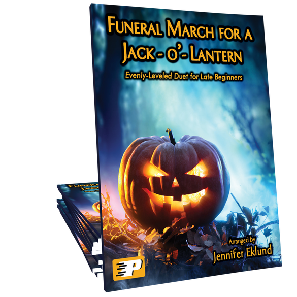 Funeral March for a Jack-o-Lantern (Easy Duet)