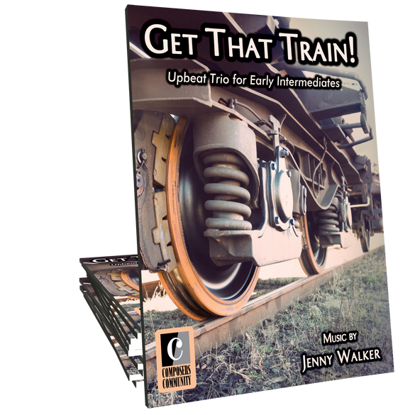 Get That Train! - Trio by Jenny Walker
