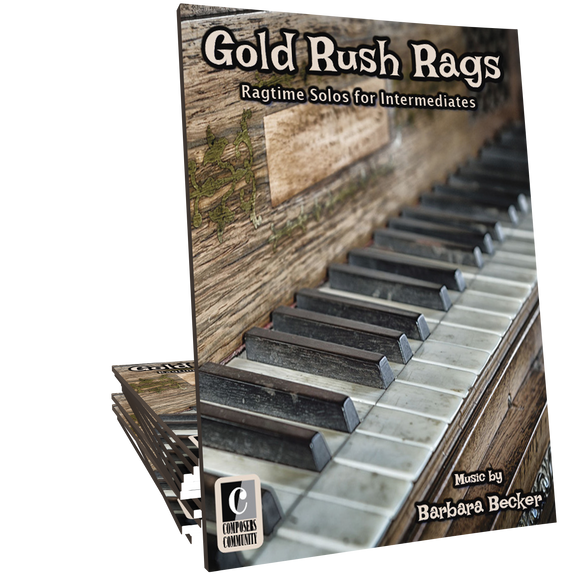Gold Rush Rags - Songbook by Barbara Becker