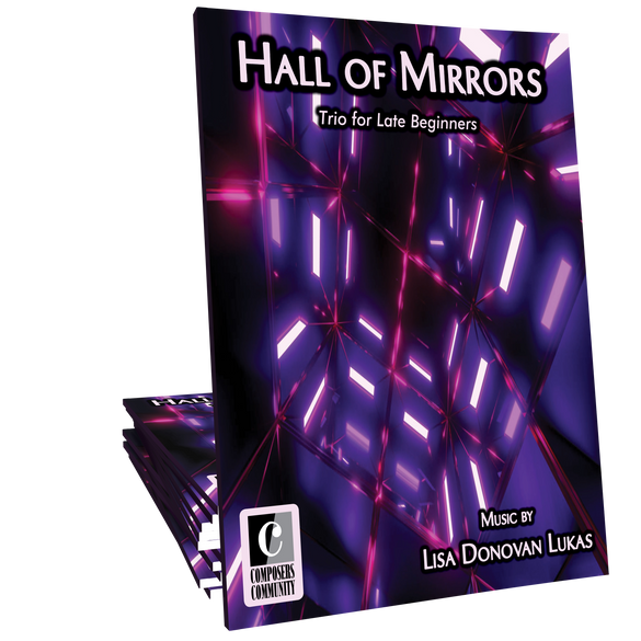 Hall of Mirrors - Trio by Lisa Donovan Lukas