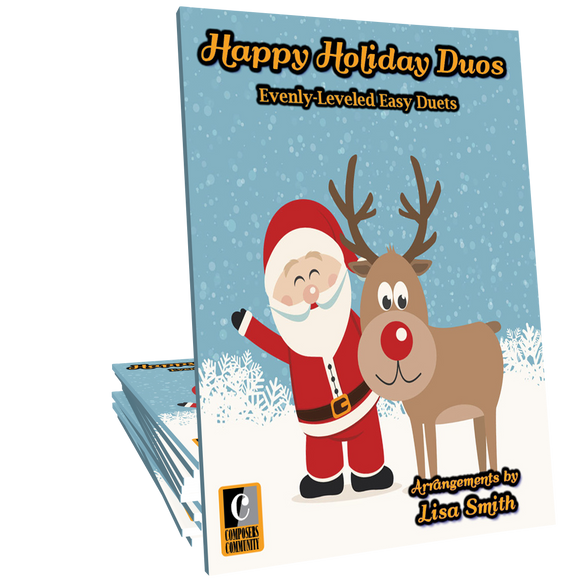 Happy Holiday Duos - Songbook by Lisa Smith