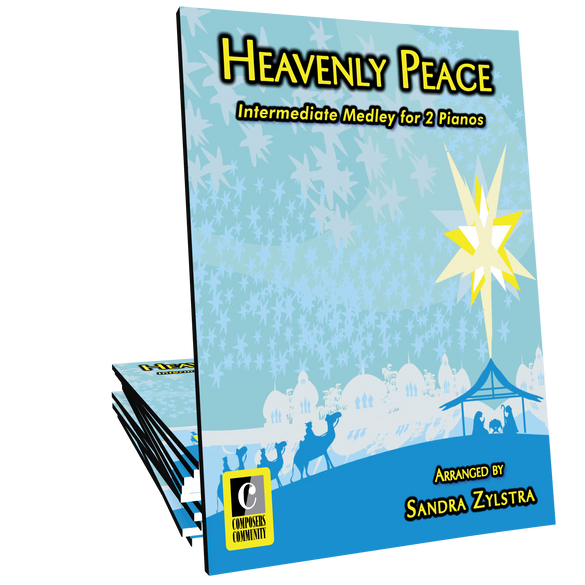 Heavenly Peace Two-Piano Duet