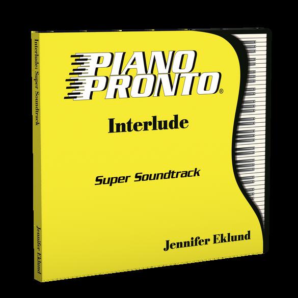 Piano Pronto® Interlude: Super Soundtrack (Play-along tracks & Duets)