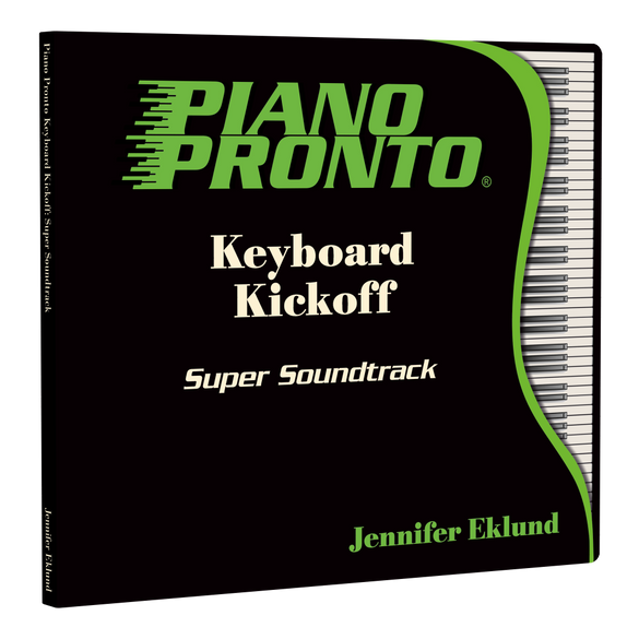 Piano Pronto® Keyboard Kickoff: Super Soundtrack (Play-along tracks & Duets)
