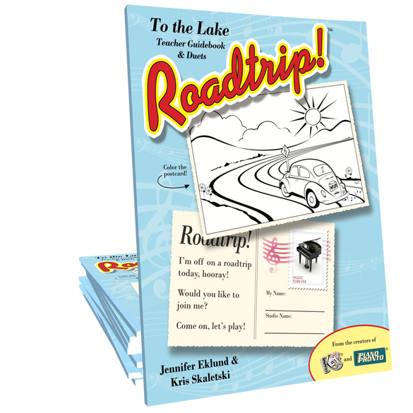 Roadtrip!® To the Lake: Teacher Guidebook & Duets