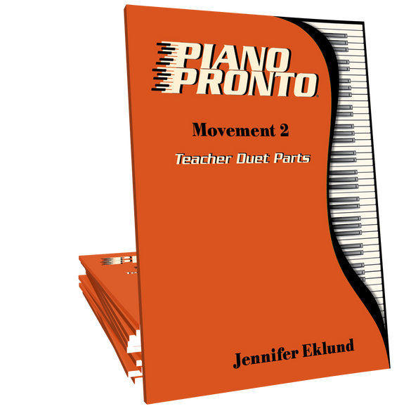Piano Pronto® Teacher Duets: Movement 2