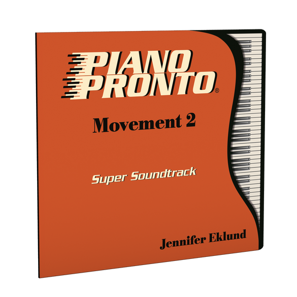 Piano Pronto® Movement 2: Super Soundtrack (Play-along tracks & Duets)