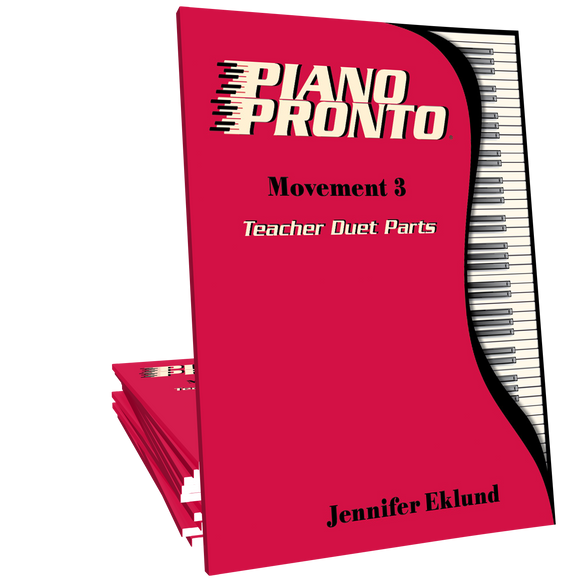 Piano Pronto® Teacher Duets: Movement 3