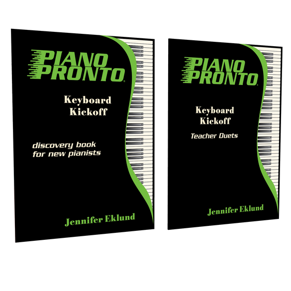 Keyboard Kickoff Teacher Essentials (Student Book & Teacher Duets)