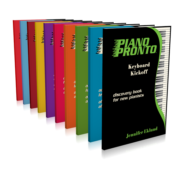 Piano Pronto® Complete Series (No Teacher Duets)