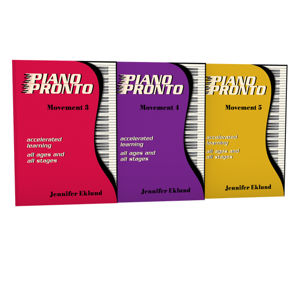 Piano Pronto® Intermediate Starter Pack