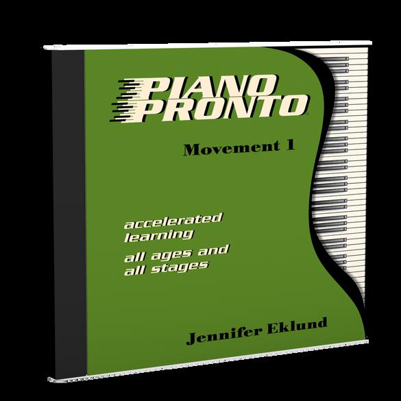 Recordings: Piano Pronto®, Movement 1 (Digital Download - Mp3s)