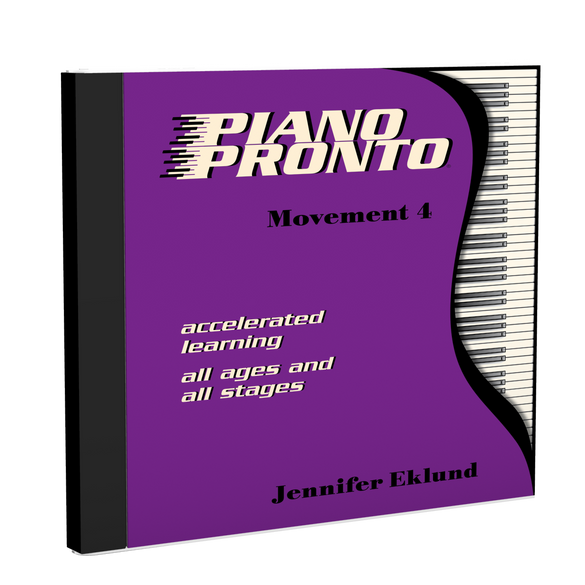 Recordings: Piano Pronto®, Movement 4 (Digital Download - Mp3s)
