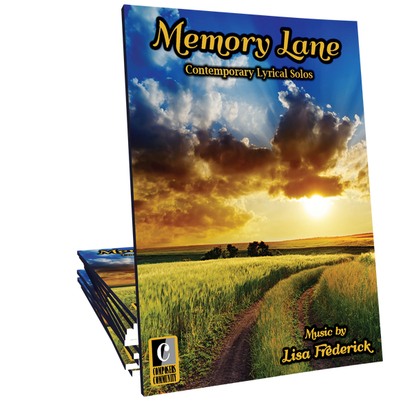 Memory Lane Songbook - Music by Lisa Frederick