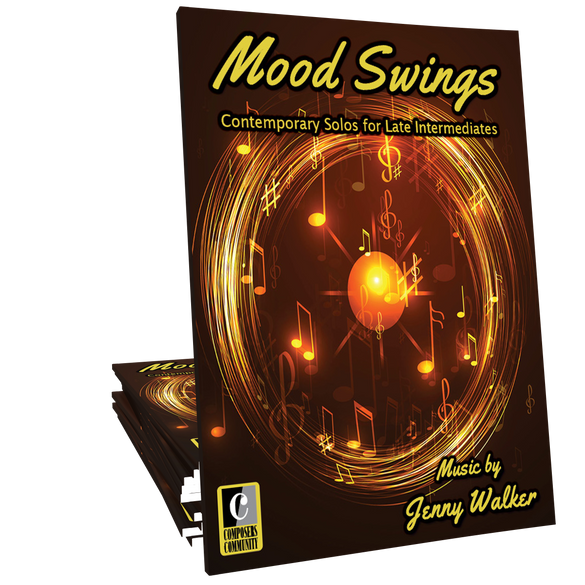 Mood Swings - Songbook by Jenny Walker