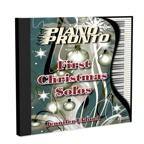 Play-Along Soundtracks: First Christmas Solos