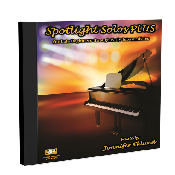 Play-Along Soundtracks: Spotlight Solos PLUS