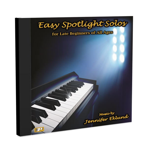 Play-Along Soundtracks: Easy Spotlight Solos