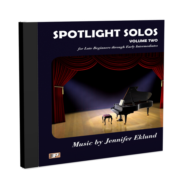 Play-Along Soundtracks: Spotlight Solos Volume 2