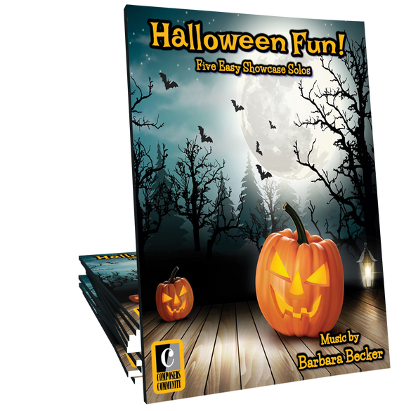 Halloween Fun! - Mini-Songbook by Barbara Becker