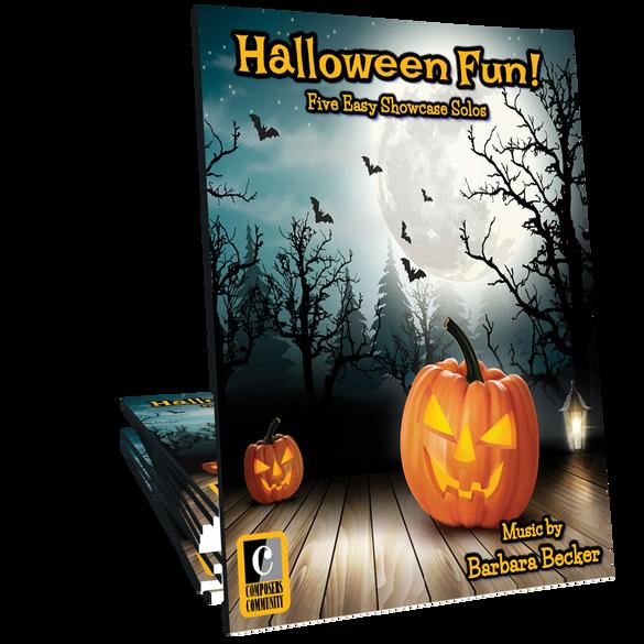 Halloween Fun! - Mini-Songbook by Barbara Becker