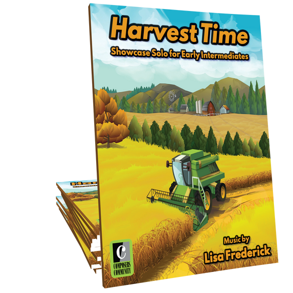 Harvest Time - Music by Lisa Frederick