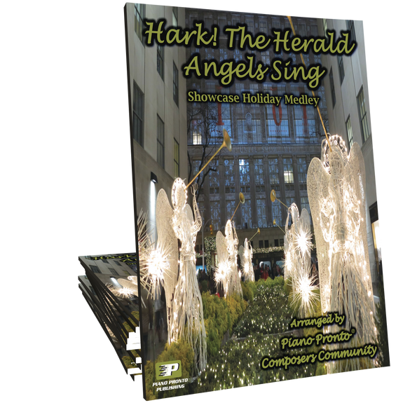 Hark! The Herald Angels Sing Medley (Arranged by the Piano Pronto Composers' Community)