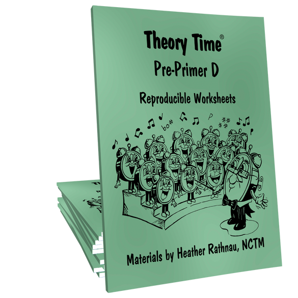 Theory Time® Reproducible Series: Pre-Primer D