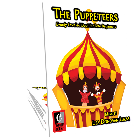 The Puppeteers - Duet by Lisa Donovan Lukas