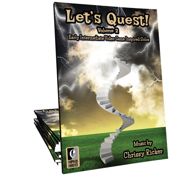 Let's Quest! Volume 2 - Songbook by Chrissy Ricker