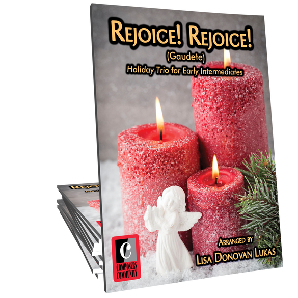 Rejoice! Rejoice! Trio - Arranged by Lisa Donovan Lukas
