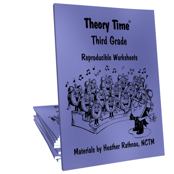 Theory Time® Reproducible Series: Third Grade Pack