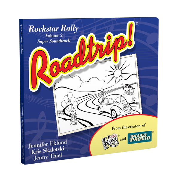 Roadtrip!® Rockstar Rally Volume 2: Super Soundtrack (Vocals & Play-along tracks)