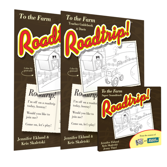 Roadtrip!™ To the Farm Teacher Super Pack