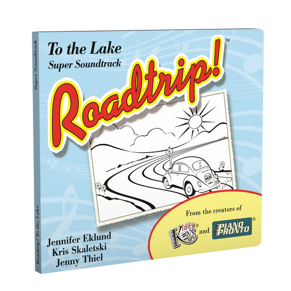 Roadtrip!® To the Lake: Super Soundtrack (Vocals & Play-along tracks)