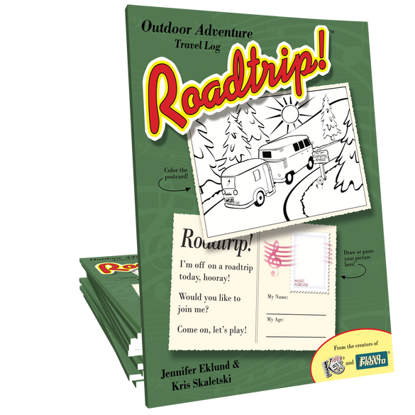 Roadtrip!® Outdoor Adventure Student Travel Log (Digital Download)