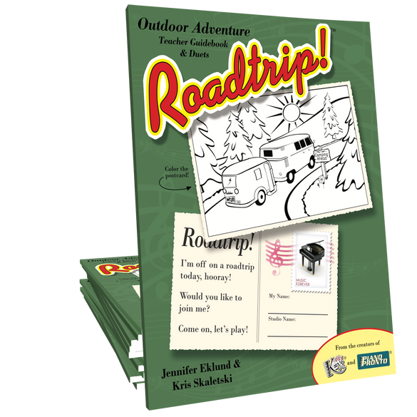 Roadtrip!® Outdoor Adventure Teacher Guidebook & Duets