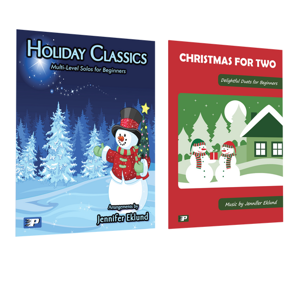 Easy Christmas Solos and Duets Combo Pack