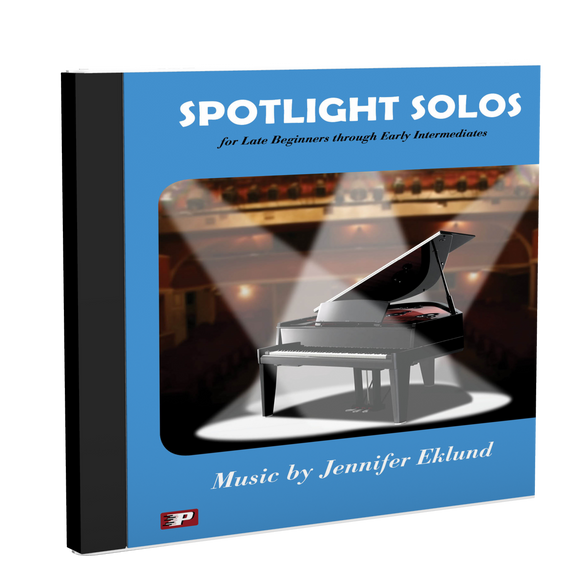 Recordings: Spotlight Solos Volume 1 (Digital Download - Mp3s)