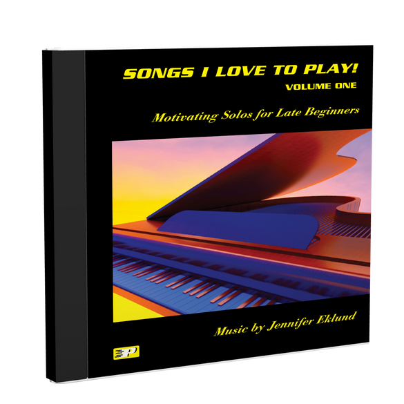 Recordings: Songs I Love to Play, Volume 1 (Digital Download - Mp3s)