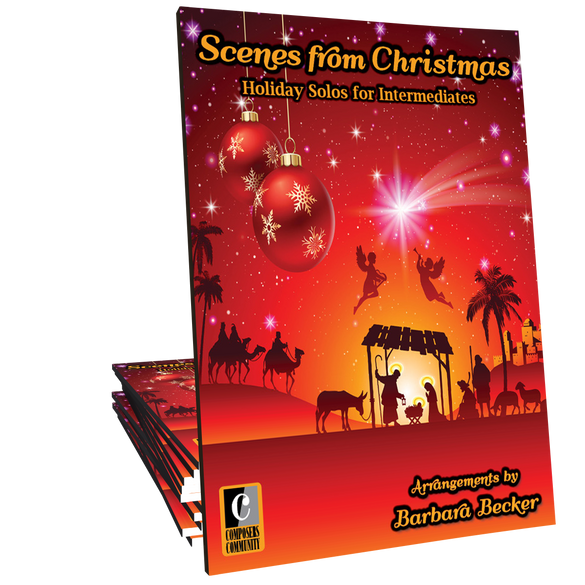 Scenes from Christmas - Songbook by Barbara Becker