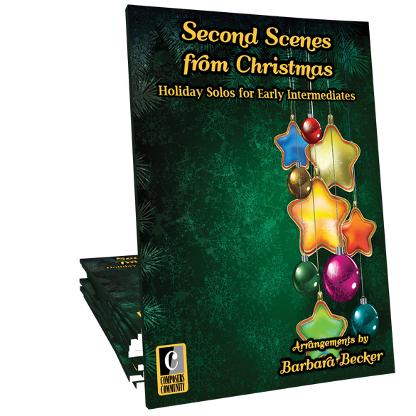 Second Scenes from Christmas - Songbook by Barbara Becker