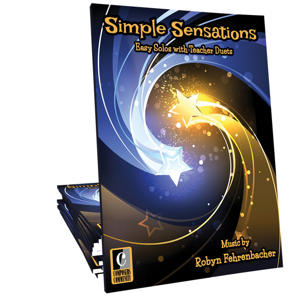 Simple Sensations - Songbook by Robyn Fehrenbacher