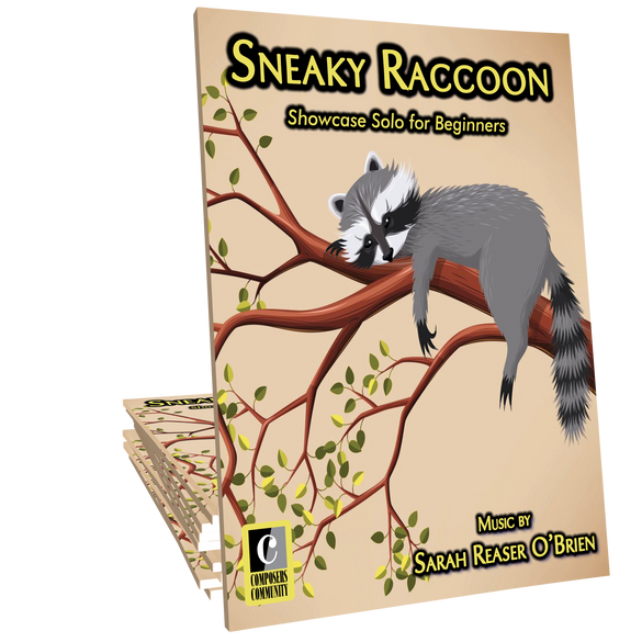 Sneaky Raccoon - Music by Sarah Reaser O'Brien