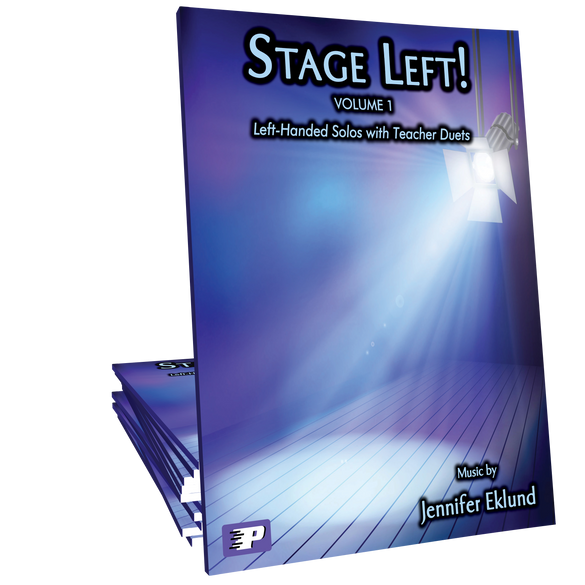 Stage Left! Volume 1 (Left-Handed Solos with Teacher Duets)