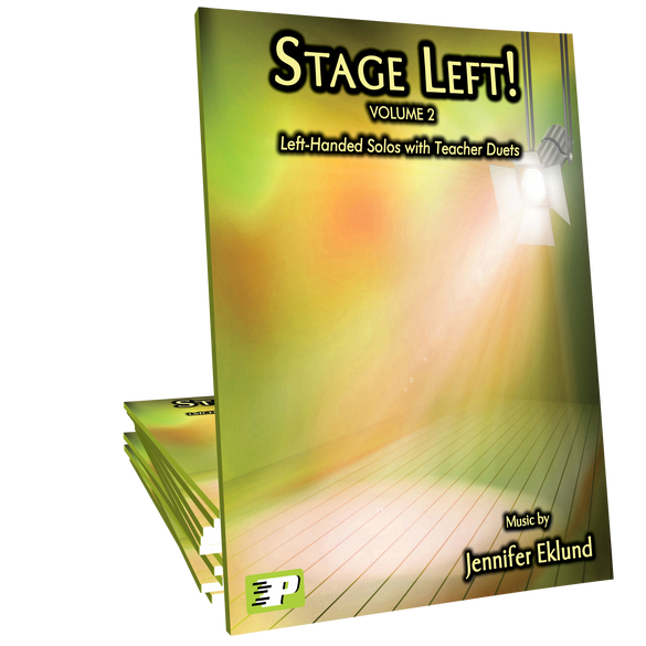 Stage Left! Volume 2 (Left-Handed Solos with Teacher Duets)
