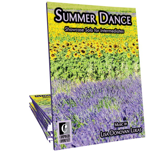 Summer Dance by Lisa Donovan Lukas